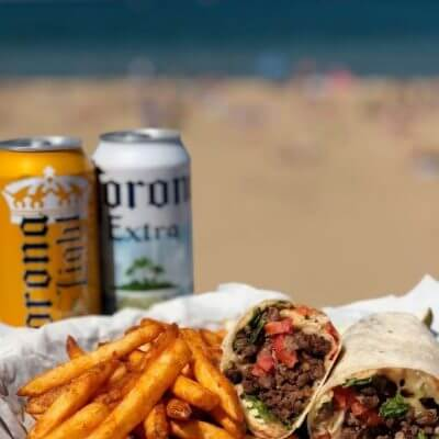 Get yourself a wrap and some spicy fries